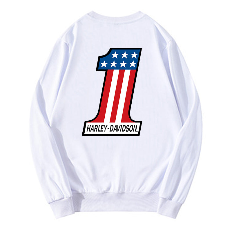 H D One Logo O-neck Sweatshirt