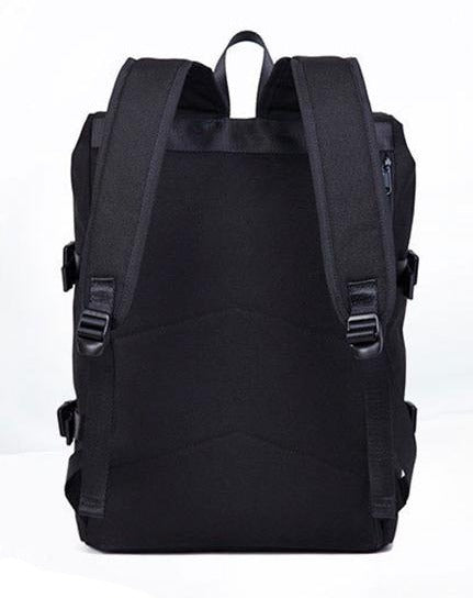 HD Skull Logo Print Backpack for Rider