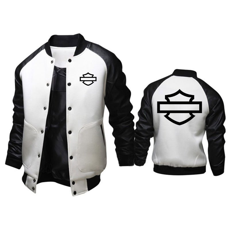 HD Outline Logo British Style Jacket