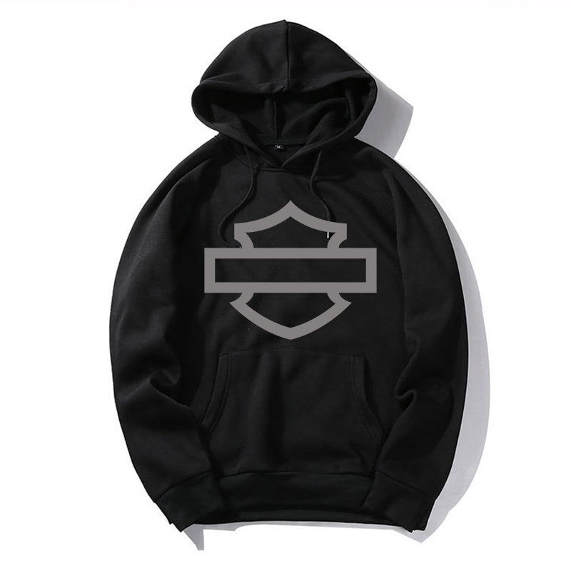 HD Basic Logo Cotton Hoodie