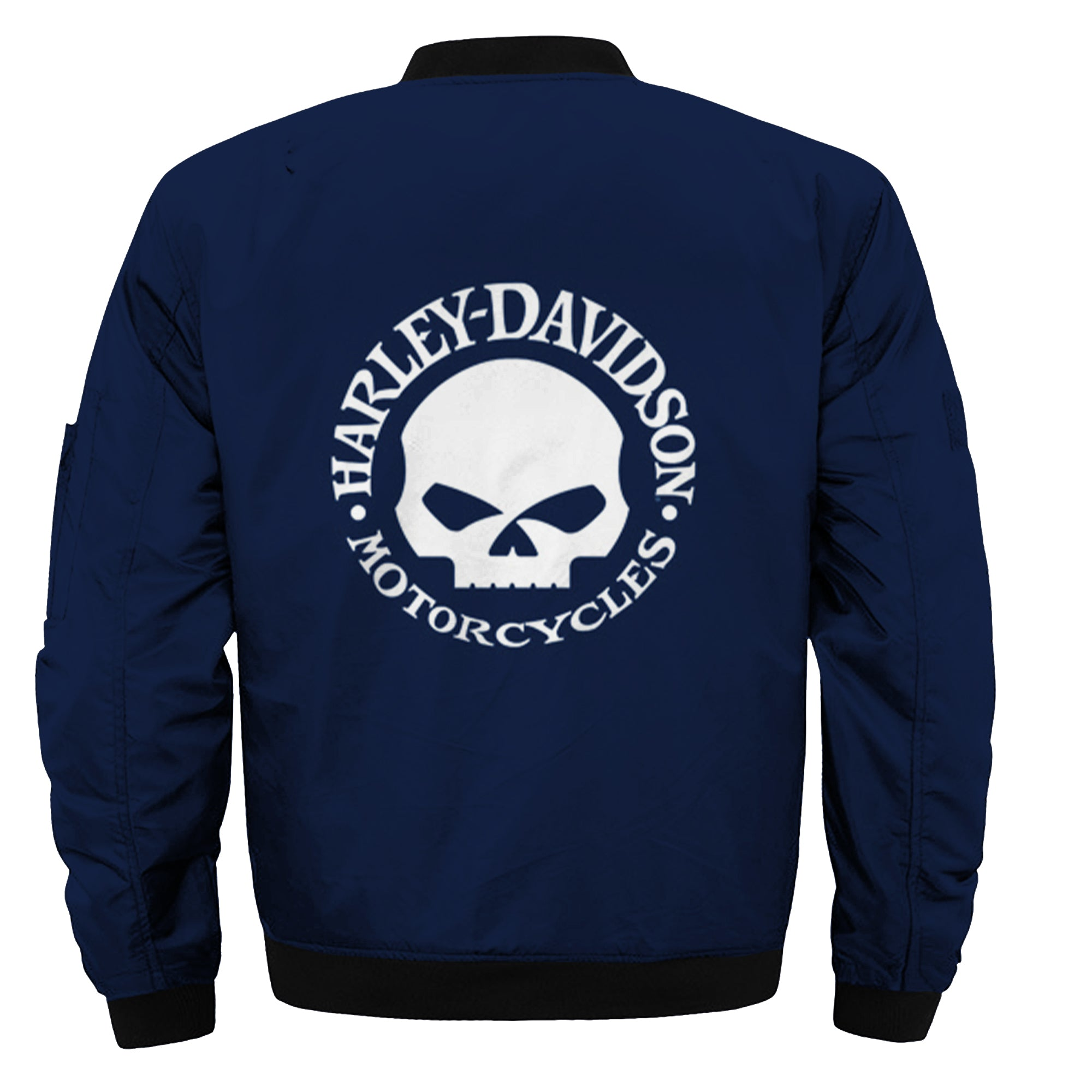 HD Skull Logo Softshell Zipper Riders Jacket