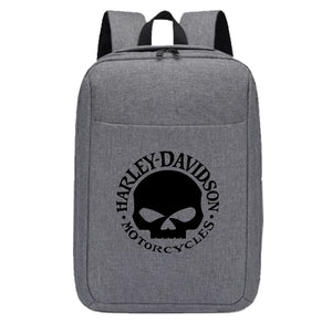 H D Skull Logo Backpack for Riders