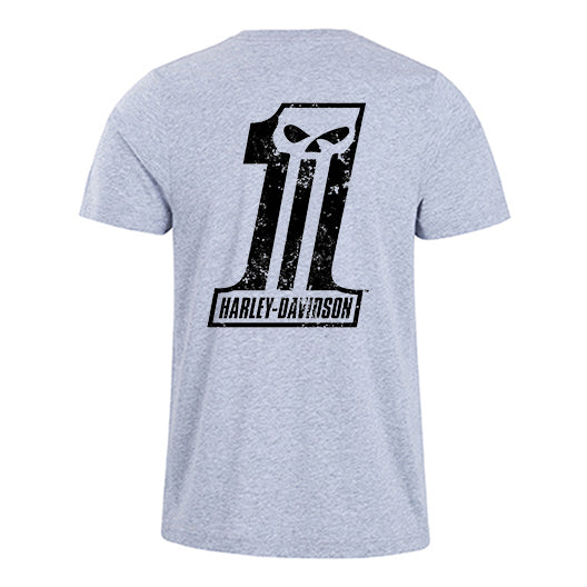 H D No 1 Logo Half Sleeve Cotton T Shirt