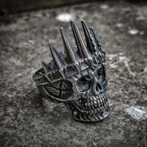 Classical Nobility King Crown Skull