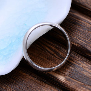 925 Sterling Silver Smooth High Polishing Ring