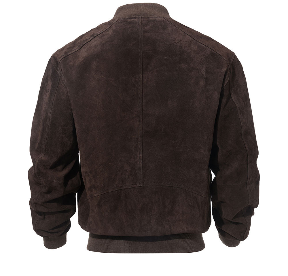 Original Leather Baseball Bomber Jacket