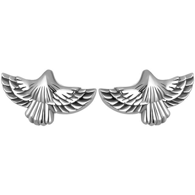 Sterling Silver  Flying Eagle Stud Earring