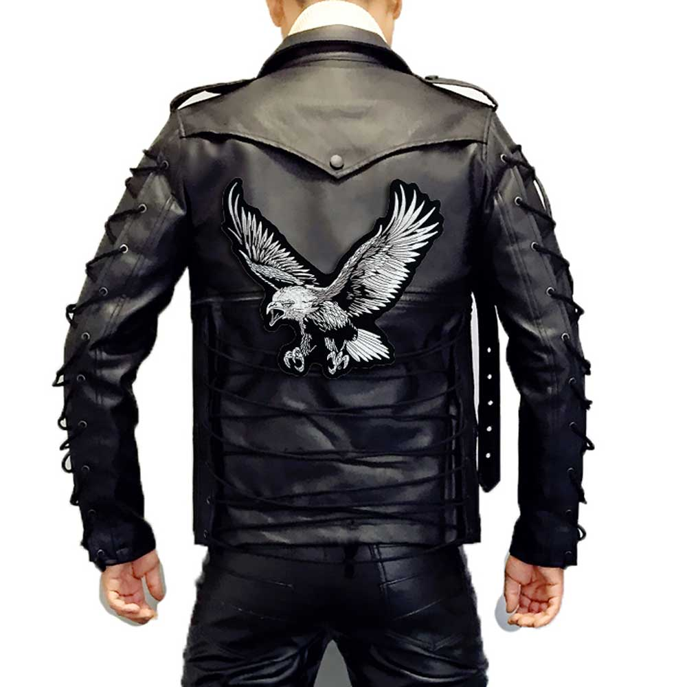 EAGLE Embroidered Biker Patche