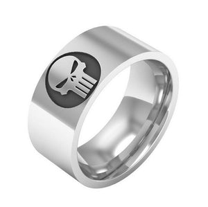 Steel Punk Antique Retro Viking Ring