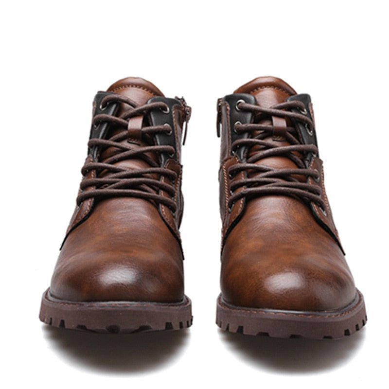 Vintage Style Casual Leather Shoes