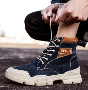 Desert Tactical Outdoor Lace-up Ankle Boots