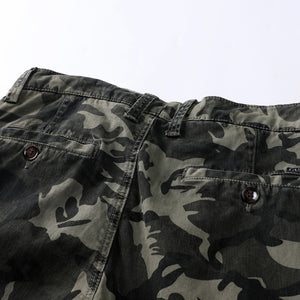 Camouflage Multi Pockets Cotton Cargo Trouser
