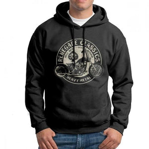 Vintage Motorcycle Hoodies