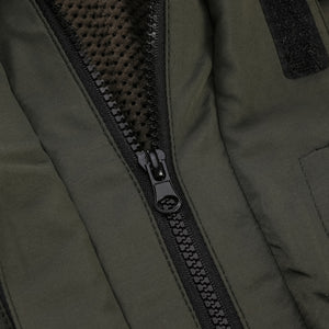 Military Style Army Coat Multi Pockets Hooded Jacket
