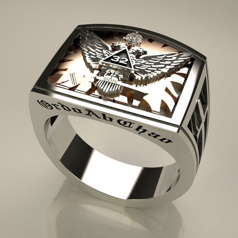 Tungsten Carbide American Domineering Eagle Ring