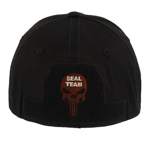 """SEAL TEAM"" Skull Military Embroidery Cap"