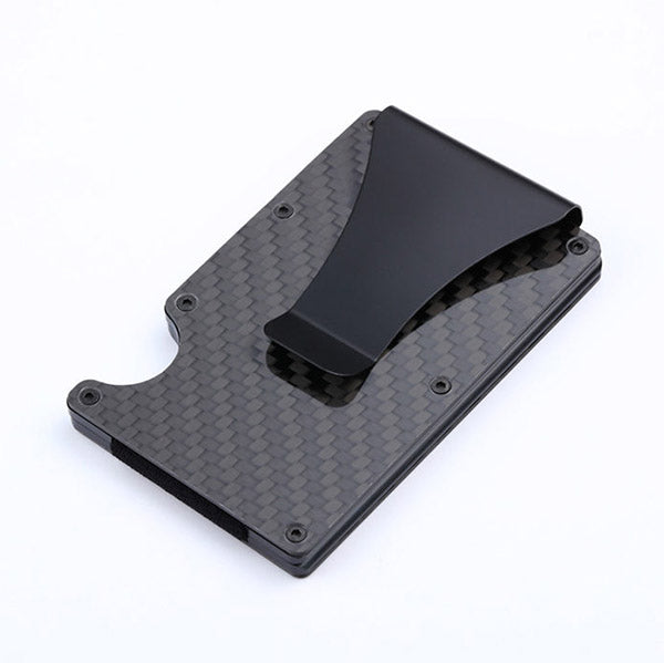 Carbon Fiber Anti-thief  Cards Holder Wallet