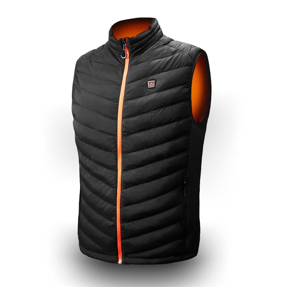 USB Heated Motorcycle Winter Travel Vest
