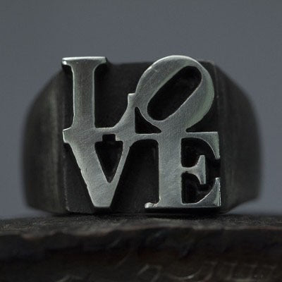 Love Vintage Retro Ring