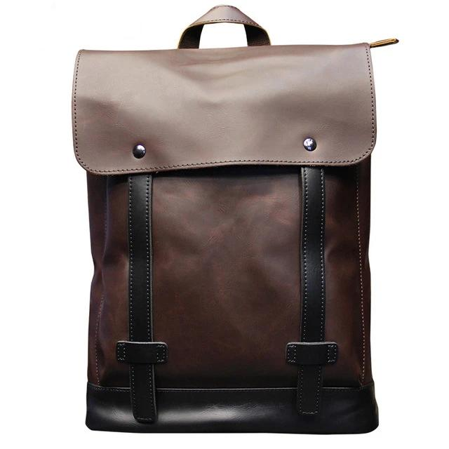 PU Leather Casual Backpack