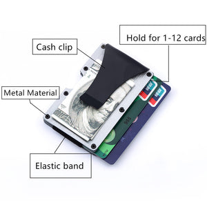 Business Casual Metal Card ID Holder