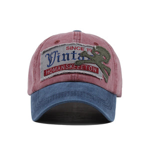 Trucker Vintage Embroidery Cotton Cap