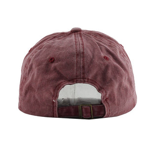 Cotton Washed Embroidery Fashion Cap