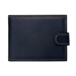 Luxury Designer PU Leather Bifold Short Wallet
