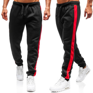 Side Striped Casual Sweatpants