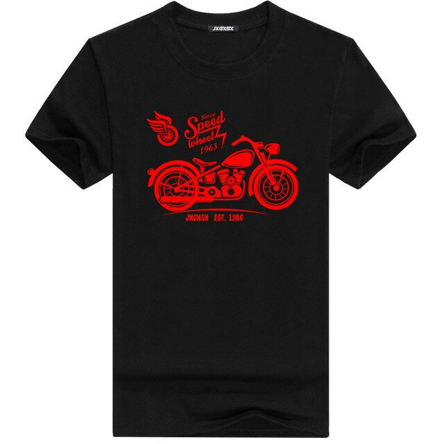 Short Sleeve Motorcycle T Shirt