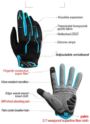 High Quality Full Finger Sport Gloves