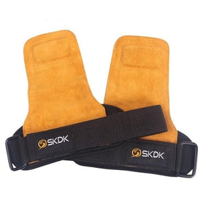 Grips Cowhide Weight Lifting Gloves