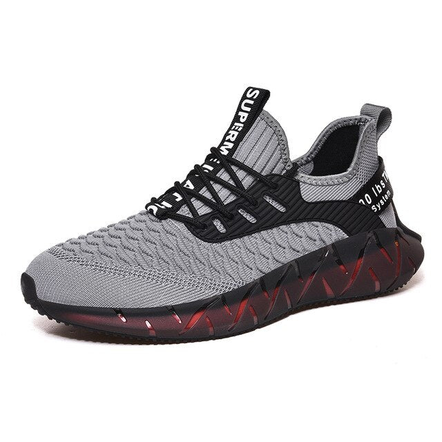 Breathable Casual Lace Up Outdoor Lightweight Sport Shoes