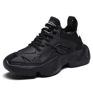 Thick Bottom Air Mesh Breathable Lightweight Sport Shoes