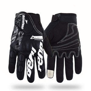 Touch Screen Motorcycle Riding Gloves