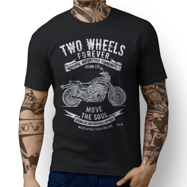 Two Wheels Forever Moto T Shirt