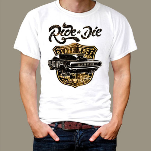 Muscle Car Retro Motorcycle Vintage T Shirt