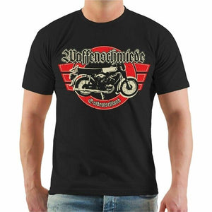 Moto Riders Cotton Half Sleeve T Shirt
