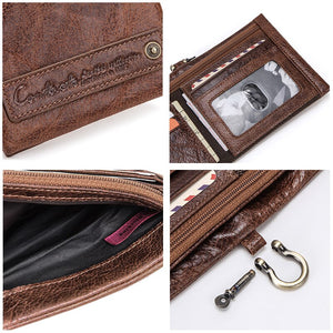 Genuine Leather Casual Wallet