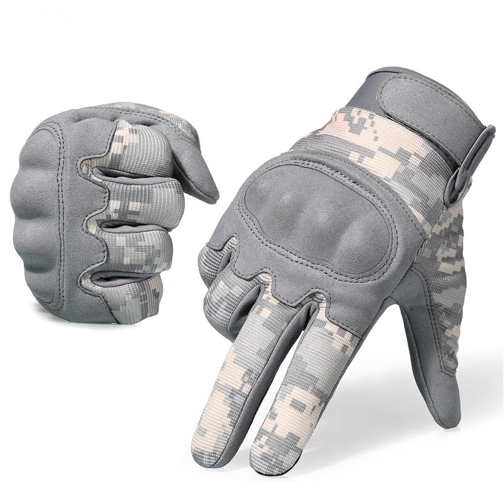 Camouflage Touch Screen Tactical Full-finger Gloves