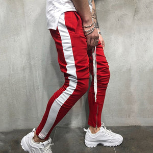 Side Stripe Skinny Fashion Sweatpants