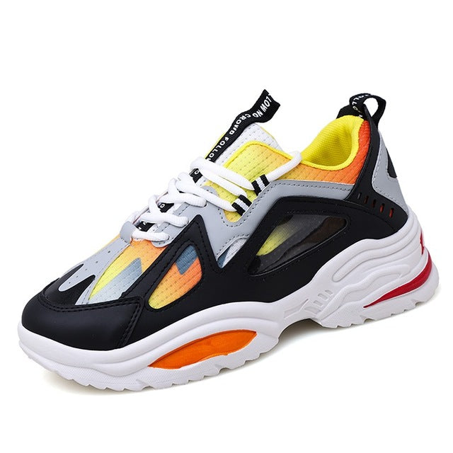 Lace-Up Comfortable Light Sports Shoes
