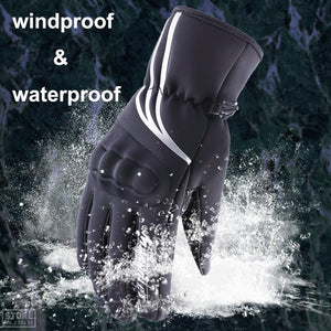 Windproof Waterproof Touch Screen Moto Riding Gloves