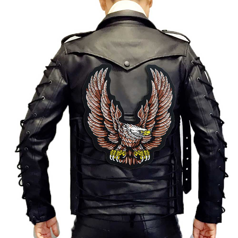 Soaring Eagle Motorcycle Embroidered Biker Patche