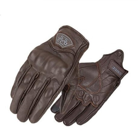 Premium Leather Motorcycle Gloves