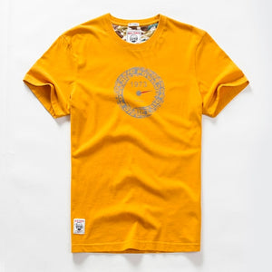 Combed Cotton Crew Neck Short Sleeve T-shirt
