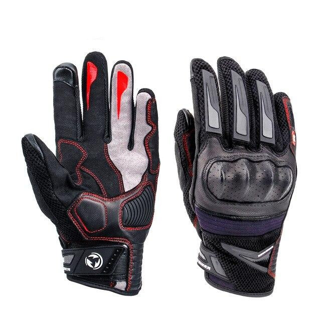 TPU Knuckle Protection Motorcycle Riding Breathable Gloves