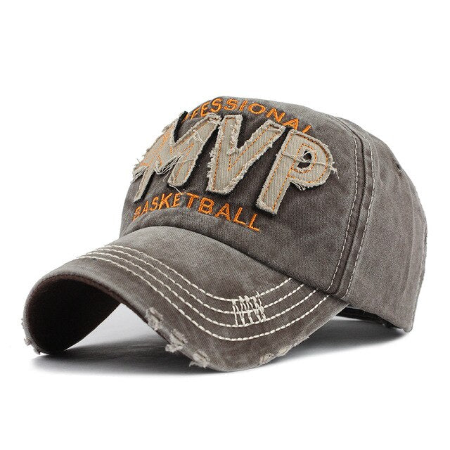 MVP Letter Embroidery Fashion Cap