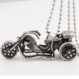 Stainless Steel Vintage motorcycle Necklace