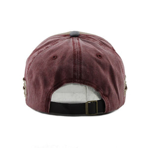 Fashion Embroidery Vintage Style Cap